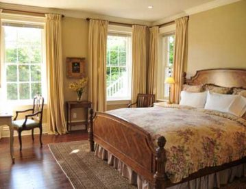 Garden Suite Room, ideal for romantic weekends in CT bed and breakfast